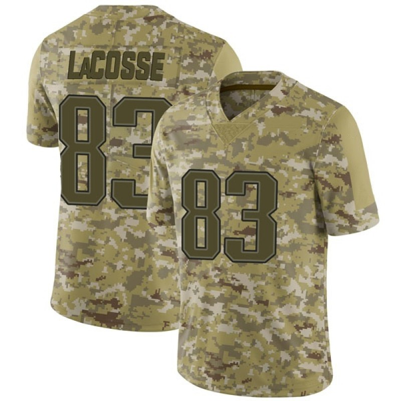 sports shoes c964d 83d6c Youth Nike New England Patriots Matt LaCosse Camo 2018 Salute to Service  Jersey - Limited