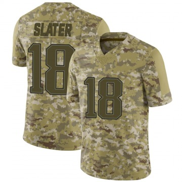 Youth Nike New England Patriots Matthew Slater Camo 2018 Salute to Service Jersey - Limited