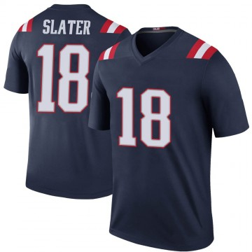 Youth Nike New England Patriots Matthew Slater Navy Color Rush Jersey - Legend