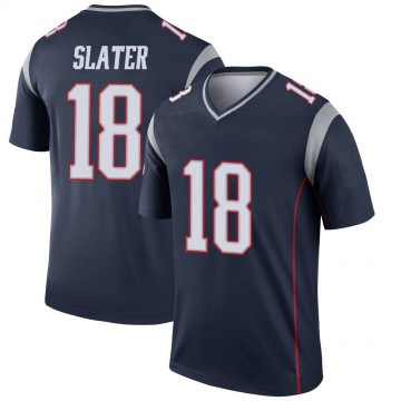 Youth Nike New England Patriots Matthew Slater Navy Jersey - Legend
