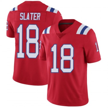 Youth Nike New England Patriots Matthew Slater Red Vapor Untouchable Alternate Jersey - Limited