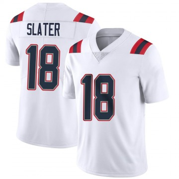 Youth Nike New England Patriots Matthew Slater White Vapor Untouchable Jersey - Limited