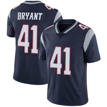 Youth Nike New England Patriots Myles Bryant Navy 100th Vapor Jersey - Limited