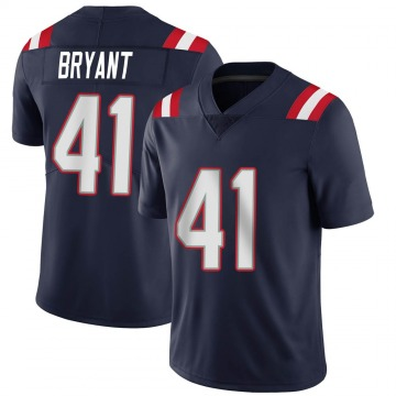 Youth Nike New England Patriots Myles Bryant Navy Team Color Vapor Untouchable Jersey - Limited