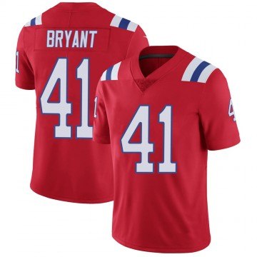 Youth Nike New England Patriots Myles Bryant Red Vapor Untouchable Alternate Jersey - Limited