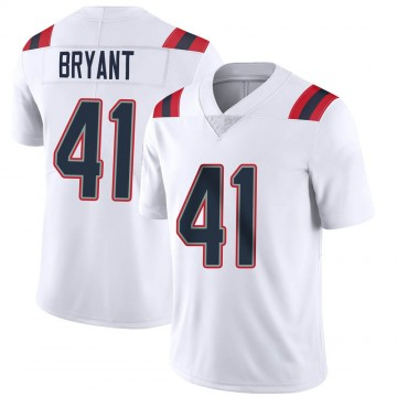 Youth Nike New England Patriots Myles Bryant White Vapor Untouchable Jersey - Limited