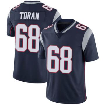 Youth Nike New England Patriots Najee Toran Navy 100th Vapor Jersey - Limited