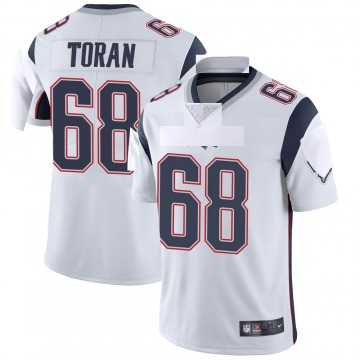 Youth Nike New England Patriots Najee Toran White Vapor Untouchable Jersey - Limited