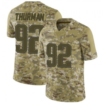 Youth Nike New England Patriots Nick Thurman Camo 2018 Salute to Service Jersey - Limited