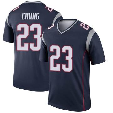 Youth Nike New England Patriots Patrick Chung Navy Jersey - Legend