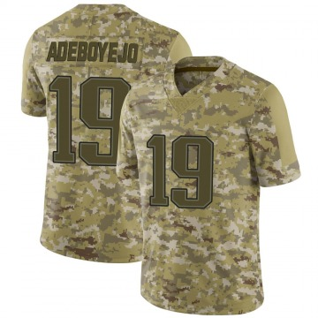 Youth Nike New England Patriots Quincy Adeboyejo Camo 2018 Salute to Service Jersey - Limited