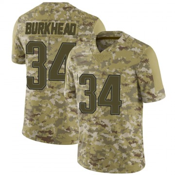 Youth Nike New England Patriots Rex Burkhead Camo 2018 Salute to Service Jersey - Limited