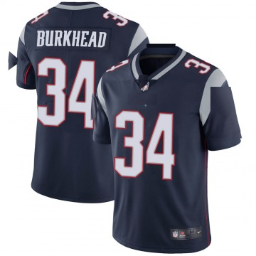 Youth Nike New England Patriots Rex Burkhead Navy Team Color Vapor Untouchable Jersey - Limited