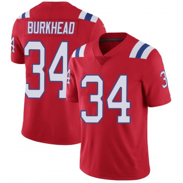 Youth Nike New England Patriots Rex Burkhead Red Vapor Untouchable Alternate Jersey - Limited