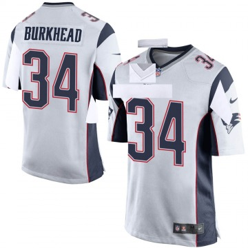Youth Nike New England Patriots Rex Burkhead White Jersey - Game