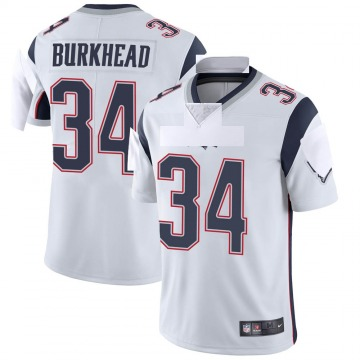 Youth Nike New England Patriots Rex Burkhead White Vapor Untouchable Jersey - Limited