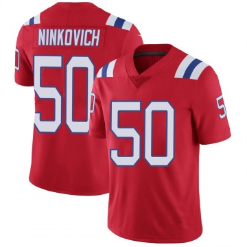 Youth Nike New England Patriots Rob Ninkovich Red Vapor Untouchable Alternate Jersey - Limited