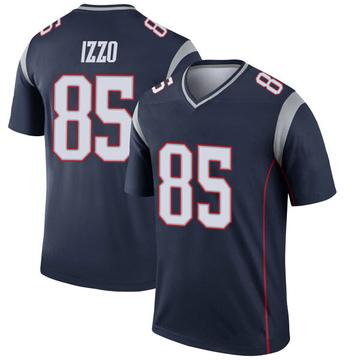Youth Nike New England Patriots Ryan Izzo Navy Jersey - Legend