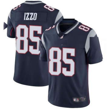 Youth Nike New England Patriots Ryan Izzo Navy Team Color Vapor Untouchable Jersey - Limited