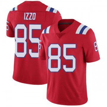 Youth Nike New England Patriots Ryan Izzo Red Vapor Untouchable Alternate Jersey - Limited