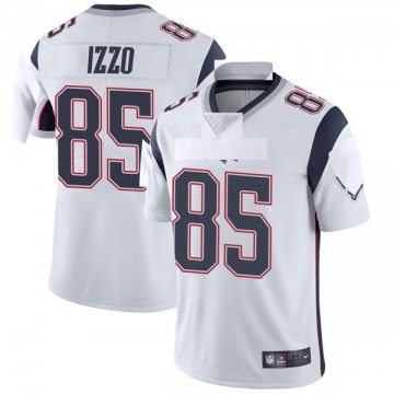 Youth Nike New England Patriots Ryan Izzo White Vapor Untouchable Jersey - Limited