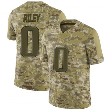 Youth Nike New England Patriots Sean Riley Camo 2018 Salute to Service Jersey - Limited