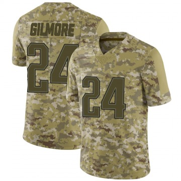 Youth Nike New England Patriots Stephon Gilmore Camo 2018 Salute to Service Jersey - Limited