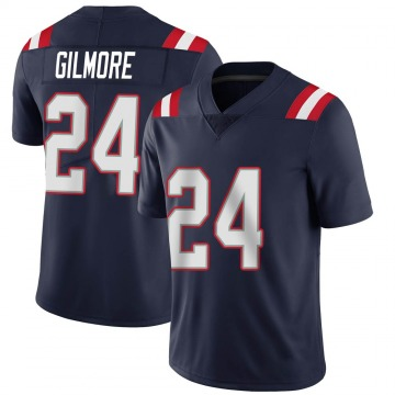 Youth Nike New England Patriots Stephon Gilmore Navy Team Color Vapor Untouchable Jersey - Limited
