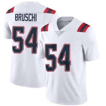 Youth Nike New England Patriots Tedy Bruschi White Vapor Untouchable Jersey - Limited