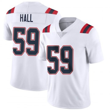 Youth Nike New England Patriots Terez Hall White Vapor Untouchable Jersey - Limited