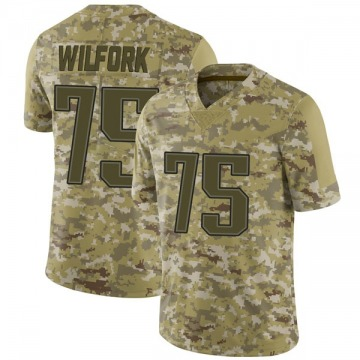 Youth Nike New England Patriots Vince Wilfork Camo 2018 Salute to Service Jersey - Limited