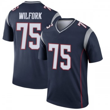 Youth Nike New England Patriots Vince Wilfork Navy Jersey - Legend