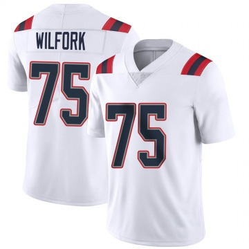 Youth Nike New England Patriots Vince Wilfork White Vapor Untouchable Jersey - Limited