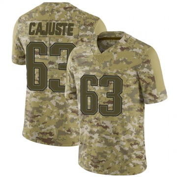 Youth Nike New England Patriots Yodny Cajuste Camo 2018 Salute to Service Jersey - Limited